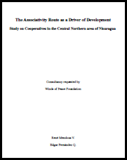 The Associativity Route as a Driver of Development: Study on Cooperatives in the Central Northern area of Nicaragua